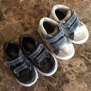 Euc bundle baby shoes 6/7sz tolders really clean